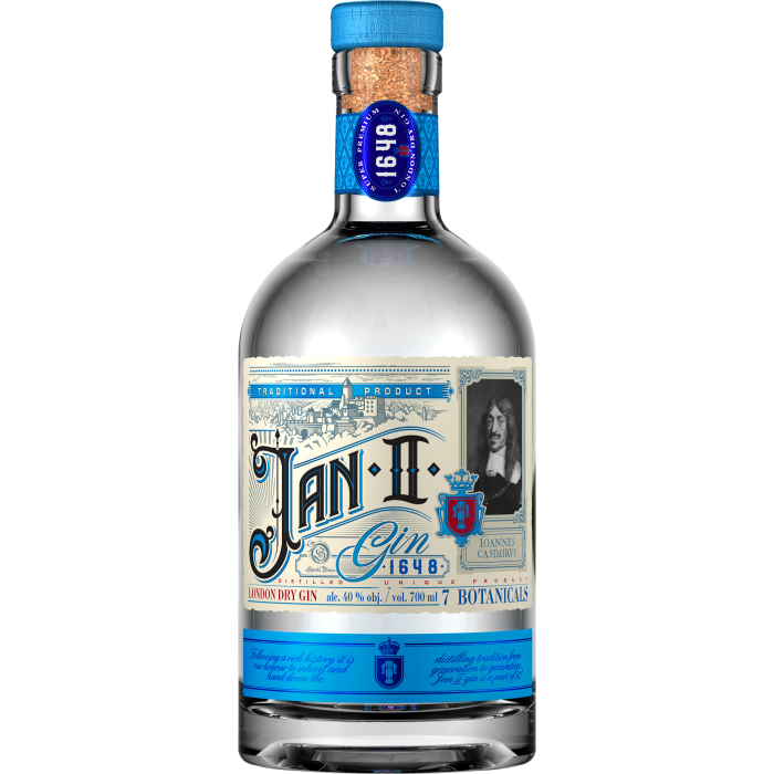 Gin Jan II London Dry 40% 0,7L