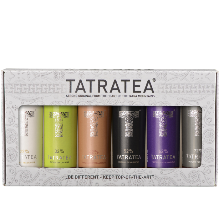 TATRATEA Mini Set 22%-72% 6x0,04L