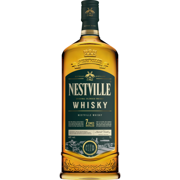 Whisky Nestville Blended 40% 1L